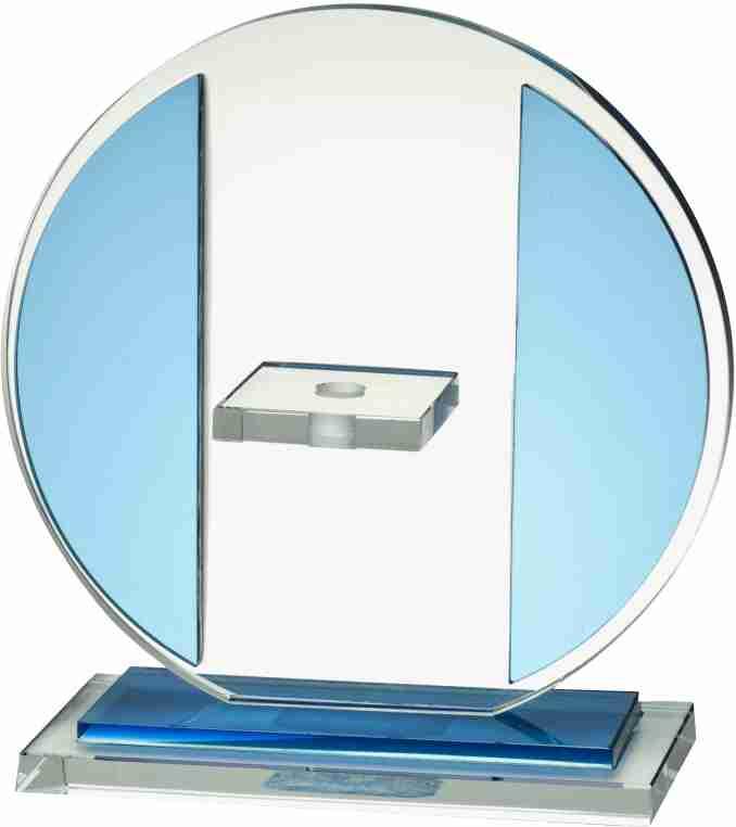 W261 sklo modré
