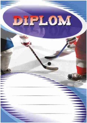 Diplom DL108 - hokej