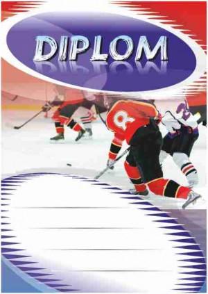 Diplom DL109 - hokej