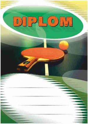 Diplom DL114 - stolní tenis