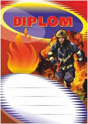 Diplom DL125 - hasičský