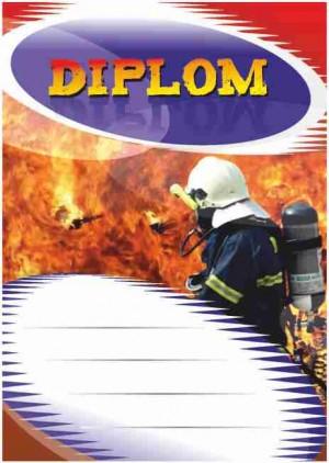 Diplom DL126 - hasičský