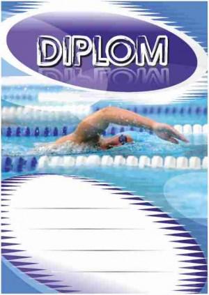 Diplom DL121 - plavání