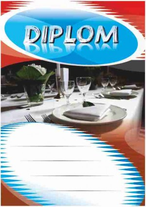 Diplom DL141 - gastronomie
