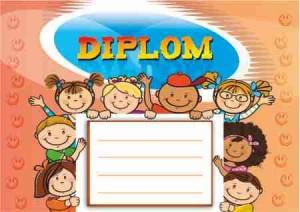 Diplom DL149 - dětský
