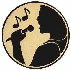 Emblém kovový E113 zpěv