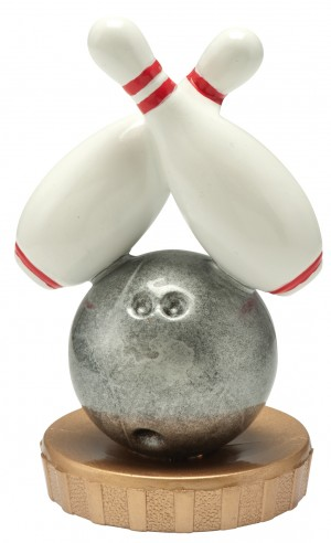 Figurka k trofeji U40 - bowling