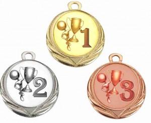 Sportovní medaile MA108.01,MA108.02,MA108.03
