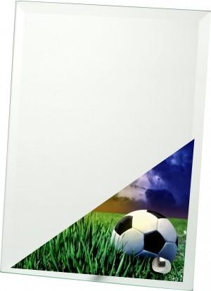 Skleněná plaketa - fotbal W201FA,202FA,203FA,204FA,205FA