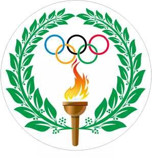Emblém barevný EM167 Olympijská pochodeň