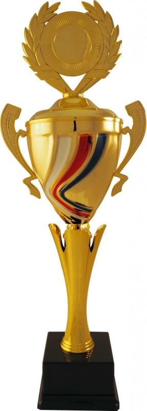 Sportovní luxusní pohár PLT117 s českou trikolórou