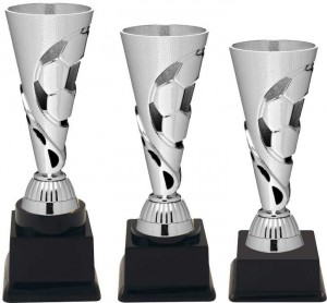 Sportovní fotbalový pohár PE087 stříbrný