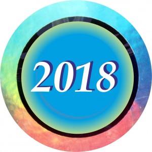 Emblém barevný EM9.1.2018 letopočet