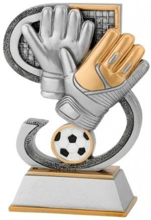 Plaketa s motivem FG665 - fotbal