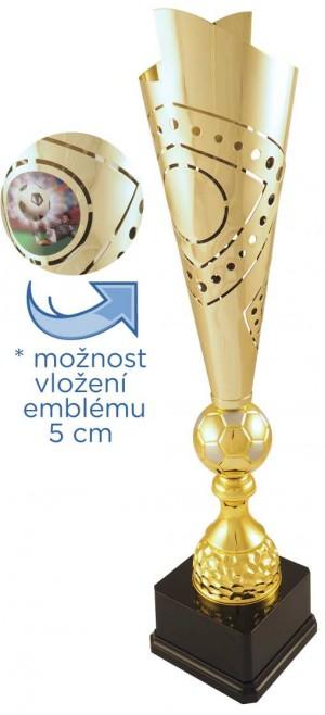 Sportovní luxusní pohár LT027 fotbal