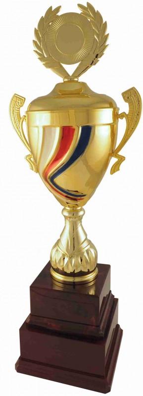 Sportovní putovní pohár PPT38 s českou trikolórou