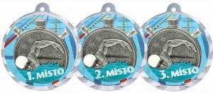 Sportovní medaile MA210 plavání