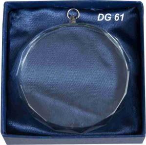 Medaile skleněná DG61
