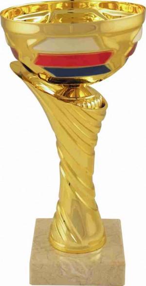 Sportovní pohár PET110 s českou trikolórou