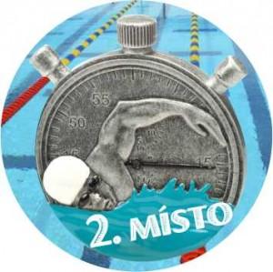 Emblém barevný EM222 - Plavání