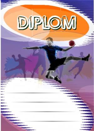 Diplom DL150 - házená
