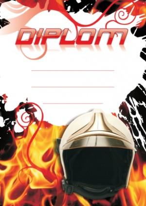 Diplom DL127 - hasičský