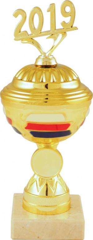 Sportovní pohár PET021 s českou trikolórou