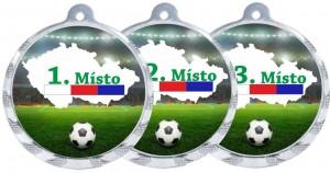 Sportovní medaile MA223 fotbal