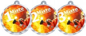 Sportovní medaile MA226 hasiči