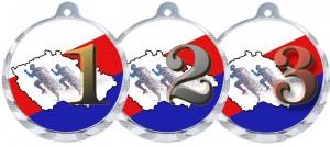 Sportovní medaile MA235 běh