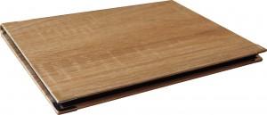 Plaketa s etuí H92 imitace dřeva