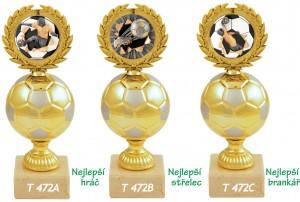 Sportovní fotbalová trofej T472