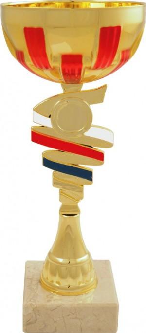 Sportovní pohár PET202 s českou trikolórou