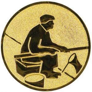 Emblém E59 rybář