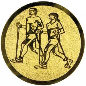 Emblém E182 chůze