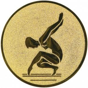 Emblém E44 gymnastika