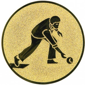 Emblém E37 Bowling muž