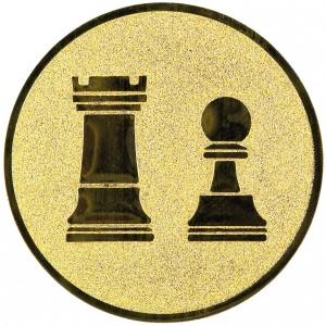 Emblém E83 šachy