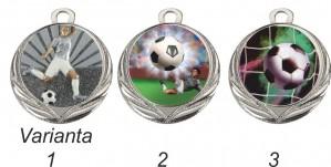 Medaile MD18F - fotbalový motiv