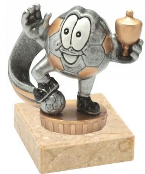 Sportovní figurka FX06,U06 - veselý fotbalový míč