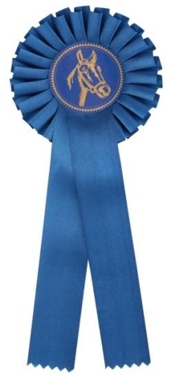Kokarda jednořadá K1 modrá