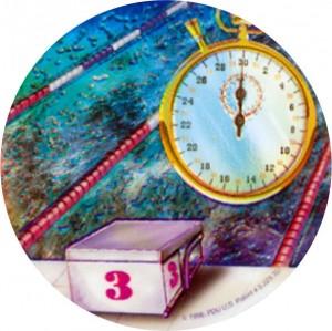 Emblém barevný EM82 - plavání