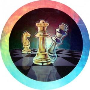 Emblém barevný EM116 šachy