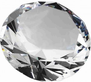 Křišťálová trofej PK046 - 'Diamant'