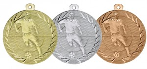 Medaile ME75 - Fotbal