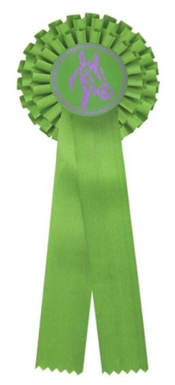 Kokarda dvouřadá K2 zelená