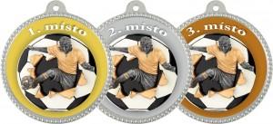 Medaile MA203 - Fotbal