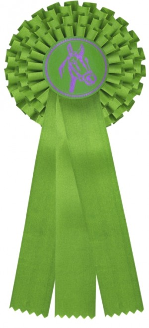 Kokarda třířadá K3 zelená