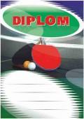 Diplom DL113 - stolní tenis