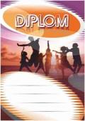 Diplom DL137 - tanec
